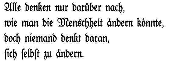 Texto Fraktur