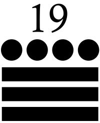 diecinueve maya