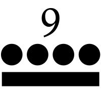 nueve maya