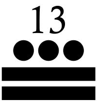 trece maya