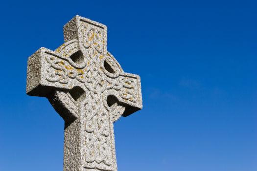 High Cross - Cruz celta de piedra